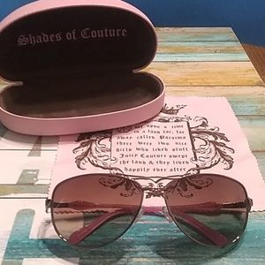 😎Juicy Couture aviator sunglasses